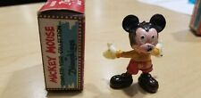 New listing Marx Disneyking Mickey Mouse in Original Box Vintage 1960s Porcelain Figurine