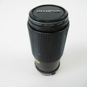 RMC Tokina 80-200mm 1:4 Telephoto Zoom Lens for OM-System + 55mm Skylight Filter