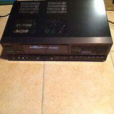 VINTAGE SONY STR-AV580 AM/FM STEREO RECEIVER W/ PHONO INPUT PREAMP NO REMOTE