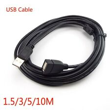 1.5/3/5/10M USB 2.0 Male to Female Extension Data Charger Cable Cord Adapter M/F