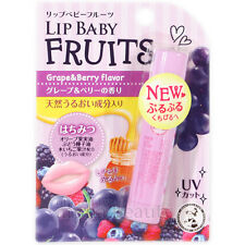 Mentholatum Japan Lip Baby Fruits Lip Balm Cream (4.5g/0.15 fl.oz) Grape & Berry