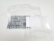 NUEVO Kyosho Ultima rb6.6 CUERPO TRANSPARENTE + ala y Adhesivos KB8