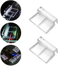 6 Pcs Acrylic Clips Aquarium Fish Tank Glass Cover Clip Support Lid Holder 6mm