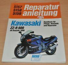 KAWASAKI ZZ R 600 1990 Bucheli Reparaturanleitung B5157 Reparaturhandbuch