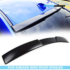 STOCK IN USA ▶ Unpainted For SUBARU WRX STI 4th 4D Sedan V Roof Spoiler 17 18