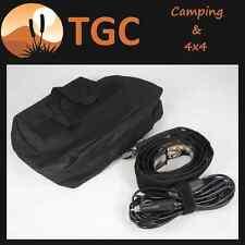 Led 12v flexable camping light awning tent lamp cigarette plug switch a/c plug
