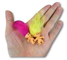 10Pcs Lucky Troll Doll Leprechauns Minifigure Toy Pen Cake Decoration Kids - USA