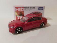 Takara Tomy Tomica No.76 Nissan Skyline Red Mini Car Toy