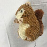 "Gis Switzerland Plush Squirrel Small 6"" Stuffed Beans Cute Cuddly Swiss Animal"