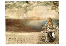 (09718) Postcard - Salvador Dali Painting - Sainte Helena a Port Lligat