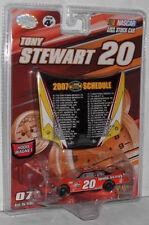 2007 TONY STEWART #20 HOME DEPOT 1:64 W/2007 SCHEDULE HOOD MAGNET