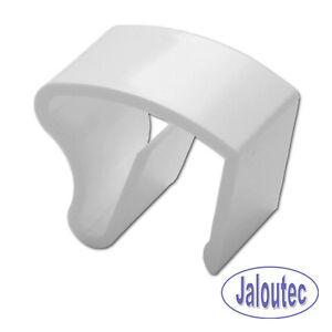 Klemmträger Klemmhalter PVC Fenster Alu Jalousie Rollo Montage ohne Bohren Klemm