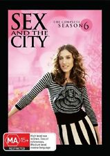 Sex And The City : Season 6 (DVD, 2006, 4-Disc Set)