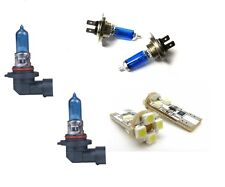 4 ampoule xenon H7 + HB3 + 2 LED CANBUS BMW SERIE 5 E39 PHASE 1 1995 A 09/2000