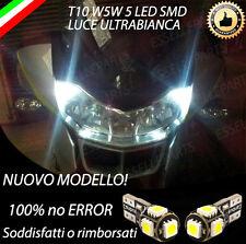 COPPIA LUCI POSIZIONE 5 LED PER BMW R1200 RT T10 W5W CANBUS 100% NO ERROR