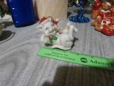 Vintage CMC 1988 Playful Cat Christmas Ornament Tawian