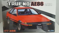 NEW FUJIMI TOYOTA SPRINTER TRUENO AE86 APEX TWIN CAM I6 1/24 Scale PLASTIC MODEL