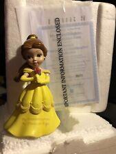 Disney Princess of a Granddaughter Collection Belle Figurine Coa