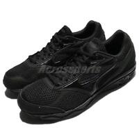 Mizuno Maximizer 20 Wide Triple Black Men Running Shoes Sneakers K1GA18-0209