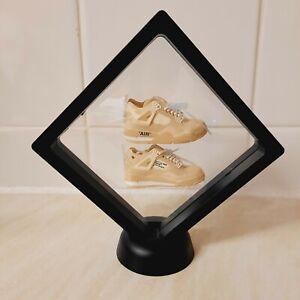 Mini kicks Jordan 4 off white sail 3D photo frame