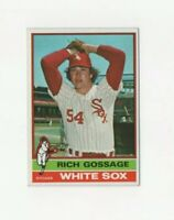 "1976 Topps Rich ""Goose"" Gossage Baseball Card #180 - Chicago White Sox HOF"