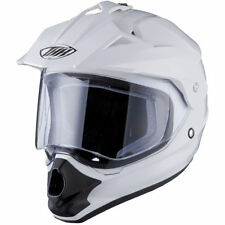 Gloss Not Rated Off Road Plain Motorcycle Helmets