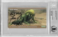 FEMI TAYLOR SIGNED #69 OOLA STAR WARS SPECIAL EDITION WIDEVISION BECKETT BAS