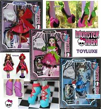 Monster High Story SCARY TALES 3 Fairy Tale Doll Set Frankie Draculaura Clawdeen