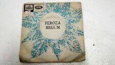 FEROZA BEGUM  NAZRUL ISLAM SONGS rare EP RECORD 45 vinyl INDIA 1968 VG+