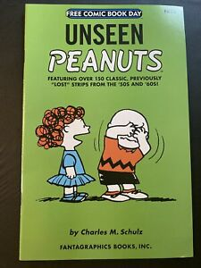 UNSEEN PEANUTS Charles Schulz 2007 Free Comic Book Day New Free Shipping