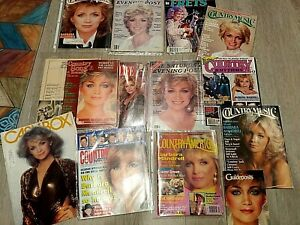 Barbara Mandrell Magazine Collection:Country Music,Cashbox,Frets,more AMAZING!
