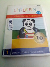 "DVD ""LITTLE PIM DIVERSION CON IDIOMAS INGLES EATING AND DRINKING"" PRECINTADO SEA"