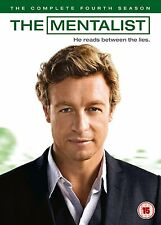 THE MENTALIST - COMPLETE SEASON 4 - DVD - UK Region 2 / sealed