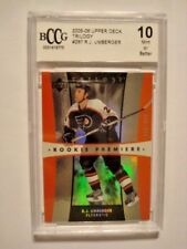 2005-06 TRILO3Y #287 - R.J. UMBERGER **RC** GRADE 10 MINT OR BETTER