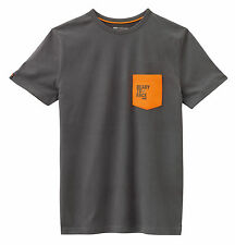 KTM T-Shirt ORANGE POCKET TEE Gr. XL grau anthrazit, Art.Nr. 3PW1656505