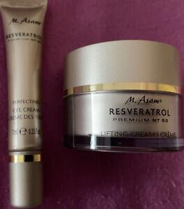 M. Asam Resveratrol Premium NT 50 Lifting Cream & Perfecting Eye Cream Neu Set