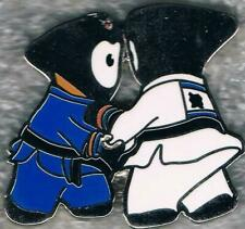 Cute 2012 London Wenlock Olympic Judo Mascot Sports Pin