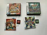 Lot2 Nintendo DS Inazuma Eleven (set 1&3) JAPAN Import Game NTSC-J (Japan)