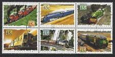 Australie 1993 Chemin de fer bloc de 6 très bien utilisé sg1405a