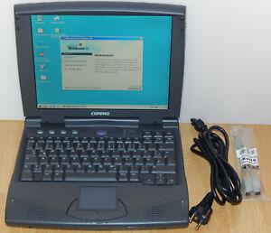 "12,1"" Notebook Compaq Armada 1592DT MMX 233MHz 3GB 32MB CD Windows 98 SE RS232"