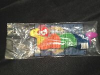 TY Old1998 McDonald's TY beanie baby INCH worm happy meal toy Free Shipping