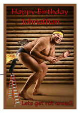 Birthday card, Humorous Funny 16th 18th 21st 30th 40th 50th 60th 70th 80th Rat
