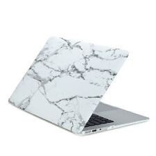"Air 13-Inch White Marble Rubberized Hard Case for Macbook Air 13"" A1369 & A1466"