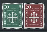 Allemagne - RFA N°109/10** (MNH) 1956 - Journée de l'église évangélique