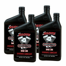 Klotz V-Twin Synthetic Motorcycle Oil - SAE 50 Oil - 32oz - 4 Quarts / 1 Gallon
