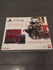 PLAYSTATION 4 CONSOLE LIMITED EDITION METAL GEAR SOLID V 5 PAL NUOVA SIGILLATA