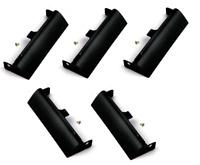 5 Pieces Hard Drive HDD Caddy Covers for Dell Latitude E6420 E6320 E6520 Black