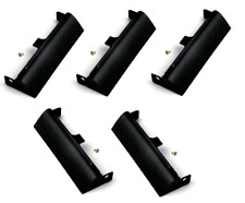 5 Pieces Hard Drive HDD Caddy Covers for Dell Latitude E6420 E6320 E6520 Black