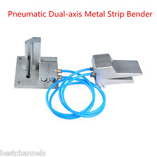 Pneumatic Dual-axis Metal Strip Letter Bending Tools for Making Led Letter Signs