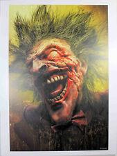 "DCEASED #1 (JOKER) ART PRINT by John Giang ~ 12"" x 16"" ~ DC Comics"